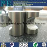 Peças fazendo à máquina quadradas da máquina do CNC do aço inoxidável da elevada precisão