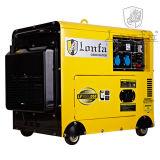 3 leiser Dieselgenerator der Phasen-50Hz 220V 380V 5kw
