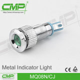 12V/24V/110V/220V Controlelamp van het LEIDENE Comité van Indicator de Lichtrode Geelgroene 08mm