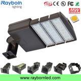 Luz ao ar livre do diodo emissor de luz Shoebox da lâmpada 150W do lote de estacionamento da área da rua IP65