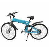bici di montagna elettrica motorizzata sospensione della forcella di 36V 250W E con la batteria nascosta