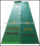 Strato di gomma antiscorrimento di gomma della stuoia Gw8004 del migliore passaggio di qualità