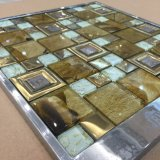 Jbn Silver Color Tile Glass Mosaic para TV Wall, Border Decoration (M655002)