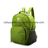 Waterproof Nylon Folding Outdoor Travel Shopping Sports Bag Backpack (CY3699)