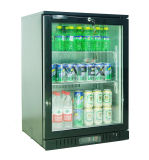 Hot Sale Double Layer Glass Door Back Bar Beverage Refrigerador de garrafa de cerveja