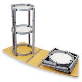Torcer la luz de aluminio plegable portátil Contador