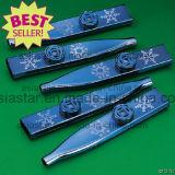 Kazoo de noir d'ABS de 12cm pour drôle (KZ04)