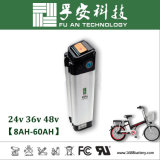 Silberne Fische 48V 10ah Li-Ionbatterie-Satz für E-Fahrrad