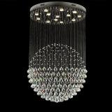 Lampadari a bracci Pendant di cristallo dell'indicatore luminoso LED della singola sfera popolare per la decorazione 6002-13 del salone