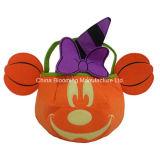 Sacchetto del feltro di promozione dei capretti dell'ossequio della zucca della caramella del sacchetto dei regali di Halloween