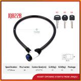 Haltbarer Stahlverschluss-Fahrrad-Verschluss des kabel-Jq8228