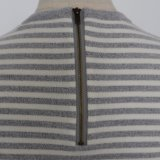 Stripes Long Sleeve Knitted女性セーター
