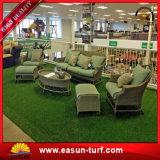 Трава крытого и напольного футбола домашней травы сада синтетическая искусственная