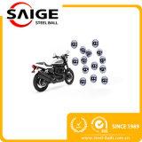 Bolas de acero machacantes terminantes del cromo G1000 de la carga 1/16 ''