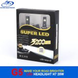 Lampadine H7 H11 9005 9006 del faro di Osram LED del dissipatore di calore di Fanless con alloggiamento di alluminio