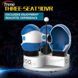 360 cine virtual interactivo del huevo del simulador 9d Vr del cine de la realidad 9d del grado solo para los cabritos