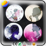 Bonbon und Lovely Portable Small Mirror Mirror Mirror Cartoon Round Mirror