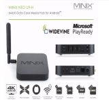 Original Minix U9-H TV Box Dual-Band Wi-Fi Neo U9-H Octa Core 4k Ultra Alta Definição Smart TV Box