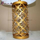 Europäische antike schnitzende Tisch-Messinglampe für Schlafzimmer