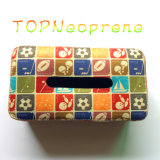Prendedor de Neoprene Case Facial Tissue Holder Box Hand Wash Paper Box
