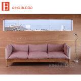 Meubles bon marché de jeux de salle de séjour en bois solide pour la taille d'appartement