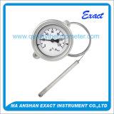 Termómetro capilar o termómetro industrial