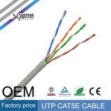 Cavo di lan della passera UTP Cat5e di Sipu per i cavi elettrici della rete