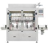 Tipo linear máquina del agua embotellada del animal doméstico con maquinaria de etiquetado que capsula de relleno que se lava