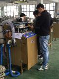 円のスカーフの編む機械