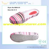Frauen-EVA gedruckte obere Spitze-verbindliche Schuh-Frauen-beiläufige Schuhe
