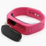 No necesitar las pulseras elegantes de los deportes del reloj del APP Bluetooth (4001)
