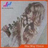 Impresión de una sola dirección de la etiqueta de la visión para las fotos y las fotos de la ventana de cristal