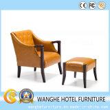 Presidenza di cuoio gialla utilizzata commercio all'ingrosso della mobilia della camera da letto