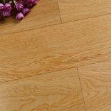 Roble blanco suelo de madera dirigido 3 capas