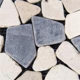 自然な石造りのペーバーのモザイクDeckingの床タイル