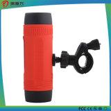 Haut-parleur sans fil sonore de Bluetooth de bicyclette avec le côté et l'éclairage LED de pouvoir