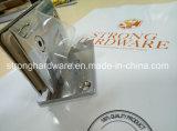 Carrossage orthogonal charnière de porte latérale simple de Sgower de salle de bains de 90 degrés