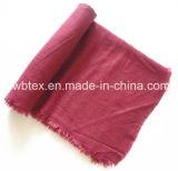 Colore solido tradizionale - scialle del cachemire/sciarpa acrilici d'imitazione (HWBAC068)