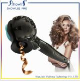 温度の調節可能な電気陶磁器のヘアアイロン