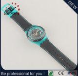 Neue Art-Armbanduhr-Silikon-Armband-Uhr-Skeleton Uhr (DC-1288)