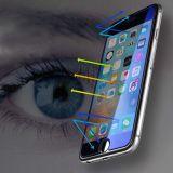 HD deckte Antihärte des fingerabdruck-0.33mm /9h voll ausgeglichene Glasschicht für das Plus iPhone 7/7 ab
