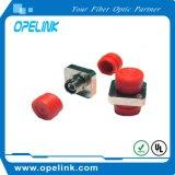 FC Adaptador óptico de fibra para la red óptica de la transmisión de fibra