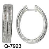 새로운 디자인 구리 귀걸이 형식 보석