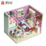 빛과 가구 소형 인형 집 룸 상자에 도매