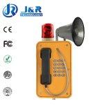 Teléfono a prueba de mal tiempo del túnel, teléfono sin hilos industrial, teléfono del Internet para los míos