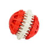 Juguete penetrante del perro de juguete de la limpieza del diente del animal doméstico