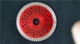 Лезвие алмазной пилы сетки оправы Turbo на трудная плитка 5 дюймов 6 дюймов