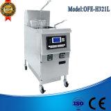 Ofe-H321L Stapel-Bratpfanne, Gasdruck-Bratpfanne, tiefe Bratpfanne-automatischer Korb-Aufzug