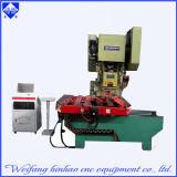 Flache Unterlegscheibe-Pappe-CNC-Locher-Presse-Maschine mit führender Plattform