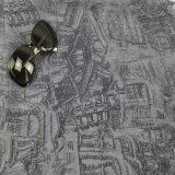 Sciarpe nere/grige del poliestere dell'accessorio di modo per le ragazze hanno stampato lo scialle